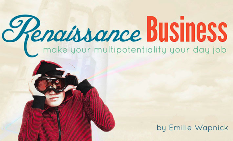 Renaissance Business Book by Emilie Wapnick Multi-Passionate With EquiJuri